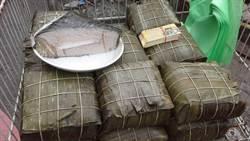 越南年節菜鬥鬧熱 巨無霸年粽解鄉愁