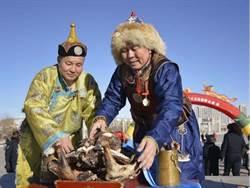 内蒙古祭火迎新春