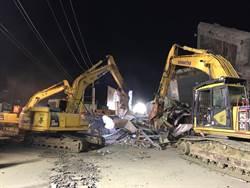 大鋼牙開挖3小時 東側發現生命跡象再停工