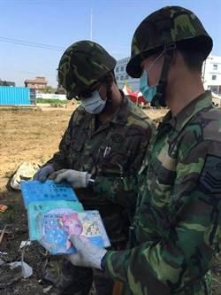 令人鼻酸 救災官兵瓦礫堆找到小孩手寫卡片