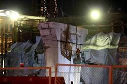 忠孝橋橋墩凌晨0時吊離 北門封印39年再度完整呈現