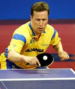 瑞典桌壇長青樹華德納退役 桌壇首位大滿貫
