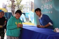 驚喜!盧彥勳現身台灣賽 辦起簽名會