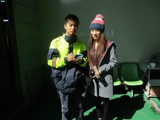 越籍正妹泣尋皮夾 中市警員翻譯失而復得