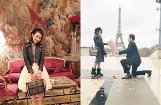 男友巴黎求婚 前《大學生》哭爆:我還以為你不會求婚了