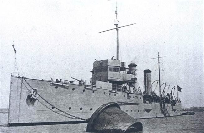 圖為南京中華民國海軍旗艦海興號練習艦。(中國軍艦博物館)