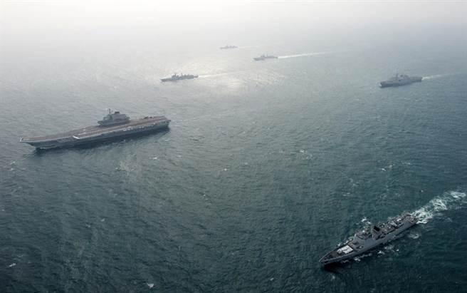 以汪政權海軍為基礎成立的解放軍海軍,是否已經成為今日的聯合艦隊?(中新社)