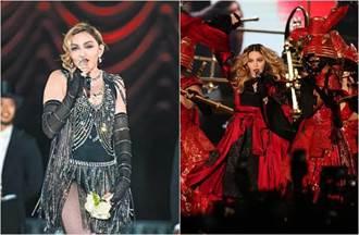瑪丹娜鹹濕開唱 送「下體味」捧花