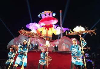燈會亮點 中市府邀日本「因幡傘舞」演出