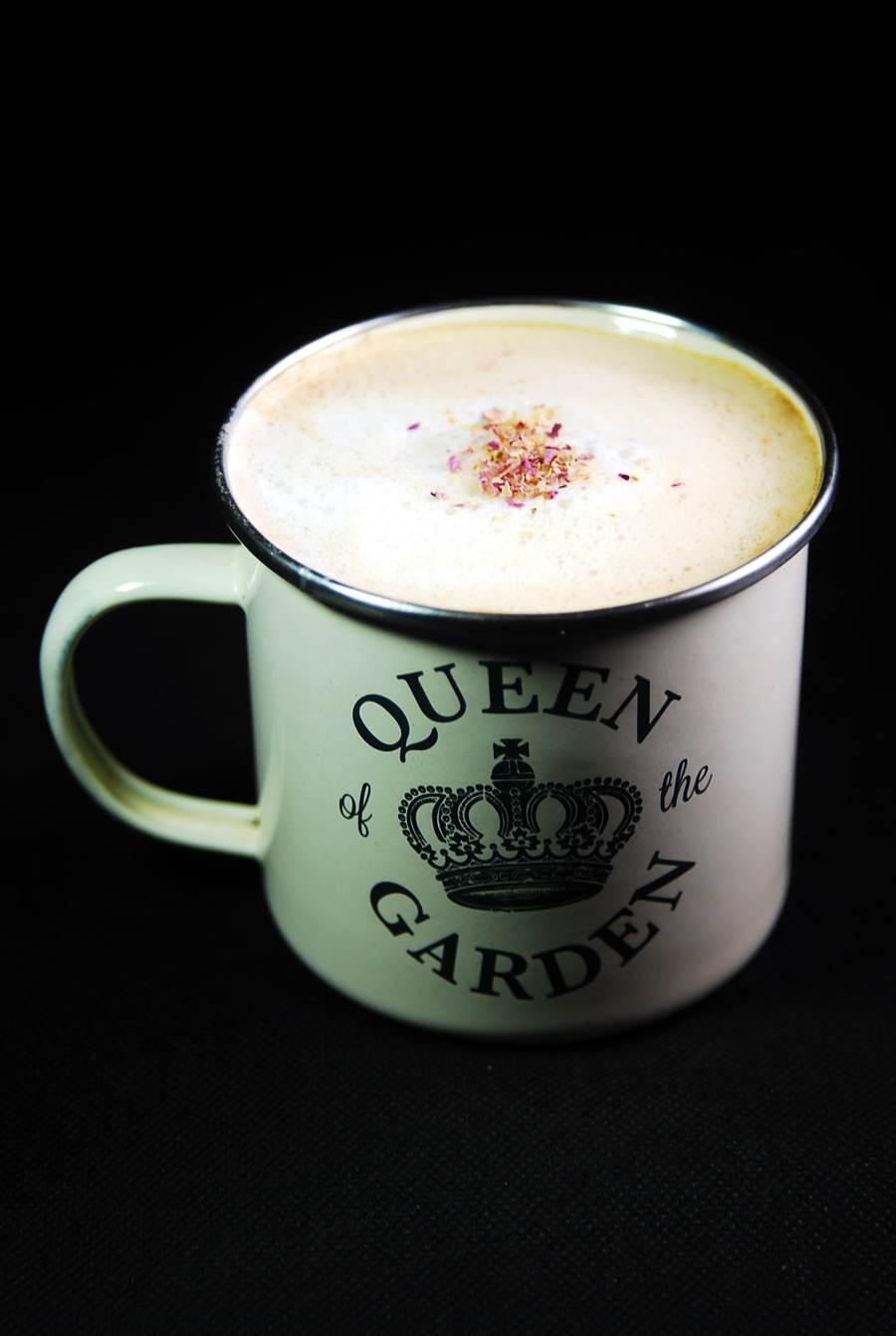 在〈Green Room〉還可以喝到〈有機豆奶咖啡〉。(圖/姚舜攝)