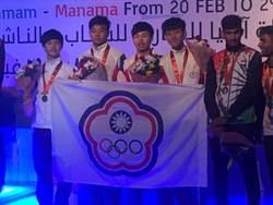 亞洲青少年擊劍賽 中華小將勇奪三銅