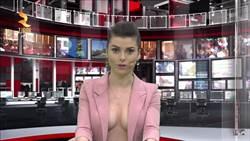 保守國家阿爾巴尼亞主播露半球報新聞 收視漲不停