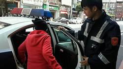 韓國籍婦人欲找兒卻迷路 熱心警協助返家