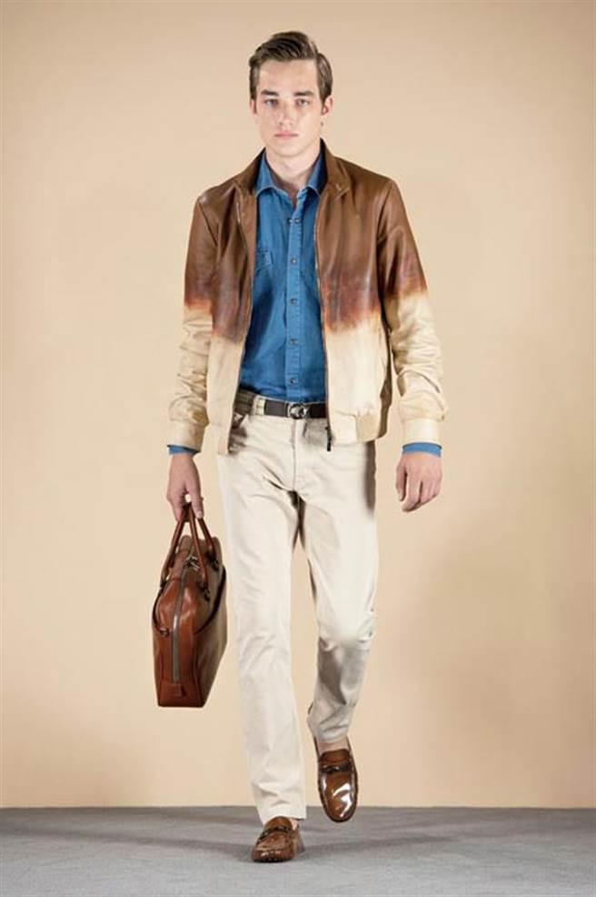 TOD`S飛行員夾克,時尚樣貌千變萬化,處處更可見精湛的皮革工藝。圖片提供/TOD`S
