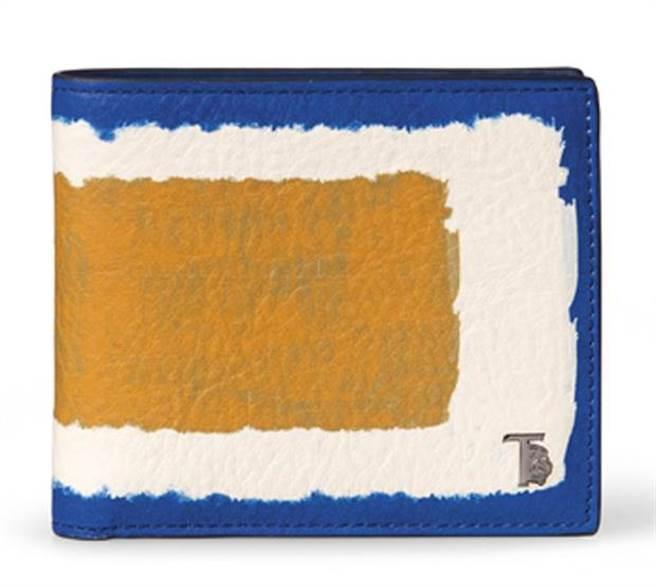 TOD`S 暈染刷色男用卡夾,價格店洽。圖片提供/TOD`S