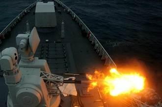 怒!中國神盾艦南海實彈演練