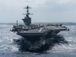 美國核航空「史丹尼斯」號打擊群進入南海
