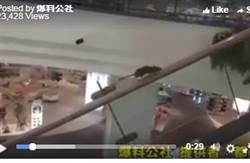 老鼠手扶梯當跑步機爆紅 購物中心臉綠