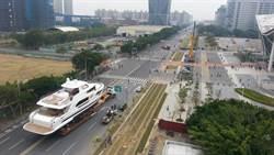 國際遊艇展下周登場 遊艇水陸運接力進館