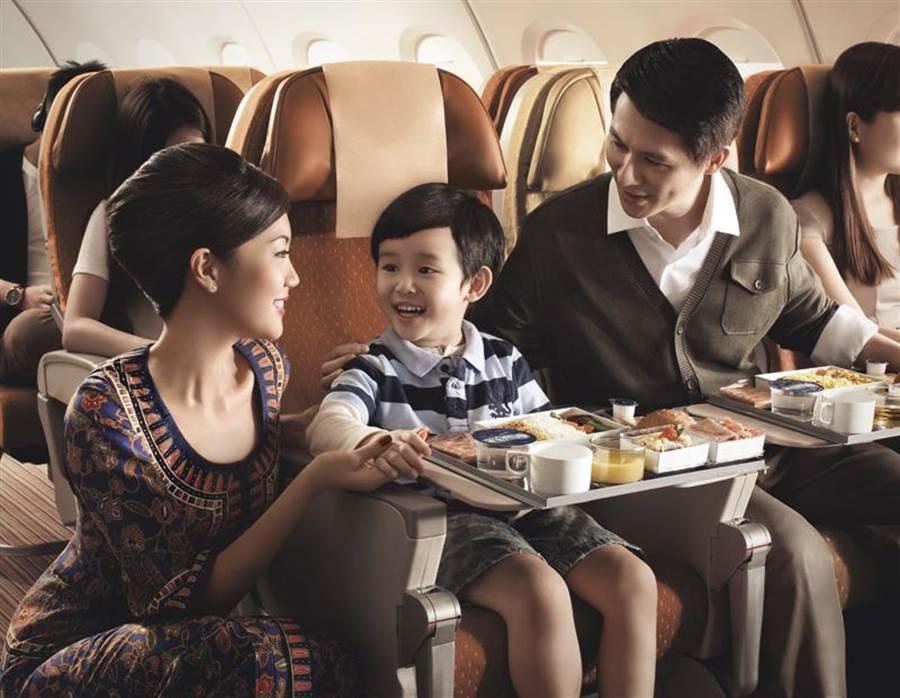 新加坡航空徵空服員。(新航提供)