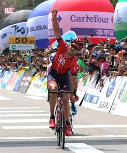 環台自行車賽 台北站澳洲選手奪冠