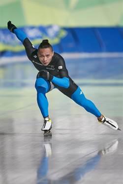 世界大學競速滑冰賽 宋青陽飆速奪銀