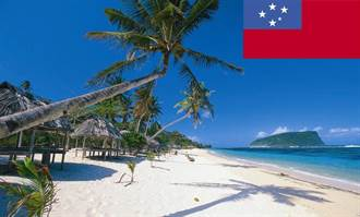 南太平洋島國薩摩亞發生6.2級地震