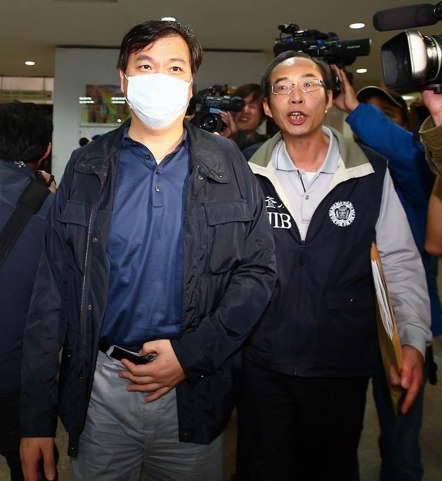 徐薇的老公江正明因涉嫌違反《藥事法》遭約談。(陳麒全攝)