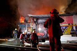 社子島工廠大火 30多坪廠房付之一炬