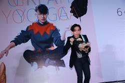 林宥嘉巡演記者會 大口吃家鄉味「燒冷冰」