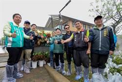 響應植樹節 台中舉辦種樹活動