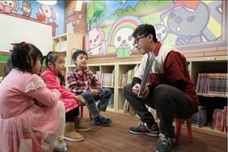 從打工仔變加盟主 超商店長打造兒童閱覽室