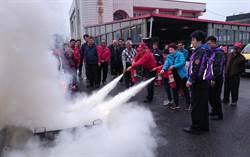 桃市第三消防大隊宣導「平安御守」