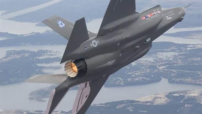 F-35閃電2式戰機的F135發動機將用於B-21轟炸機上(圖/普惠公司)