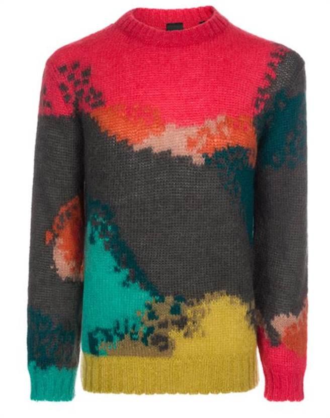 PAUL SMITH COLLETION彩色針織毛衣 建議售價18,800。圖片提供/PAUL SMITH