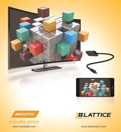 萊迪思、聯發科攜手 推出全球最佳效能USB Type-C 4K視訊傳輸