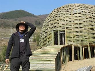 王文志《橄欖之夢》竹屋 融入小豆島美景