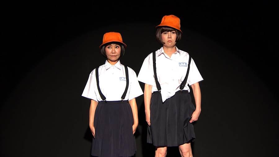 呂雪鳳(左)與苗可麗在劇中是歡喜冤家,常互相頂嘴。(三立提供)