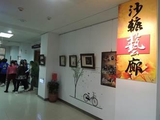 沙鹿稅務分局 70件藝術品進駐