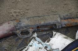 四草橋撿獲霰彈槍 確認為嘉義殺警案凶槍
