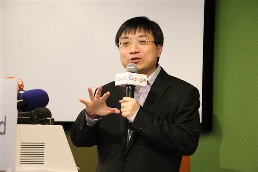 AlphaGo執棋者黃士傑博士。(圖/黃慧雯攝)
