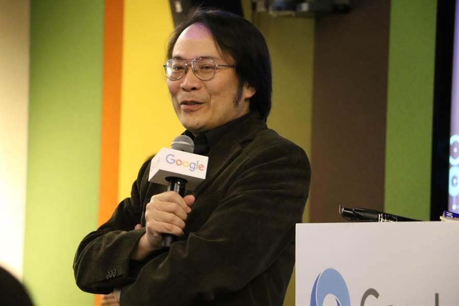 Google台灣董事總經理簡立峰。(圖/黃慧雯攝)
