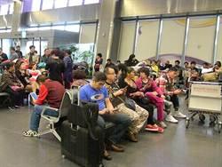霧鎖清泉崗機場 7航班受影響