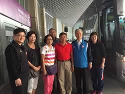 中華奧運考察團 飛機上救人一命