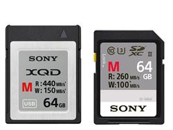 Sony發表新一代XQD記憶卡及首款XQD/SD讀卡機