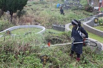 新北清明掃墓除草  省成本提高安全