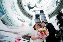 顛覆傳統 「白色巨塔」變婚紗地