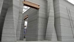 世界首家3D列印旅館 火山灰混砂建成