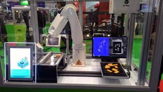 工研院3D視覺感測 機械手臂長火眼金睛