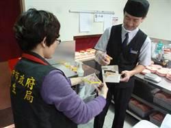 中市抽驗超商飯糰、壽司 不合格率達19%